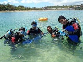 Cカード取得の流れ!海洋実習(後半) 沖縄 パラオ 伊豆・宇佐美 ダイビング パシフィックエコツアー